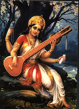 Image result for saraswathi images